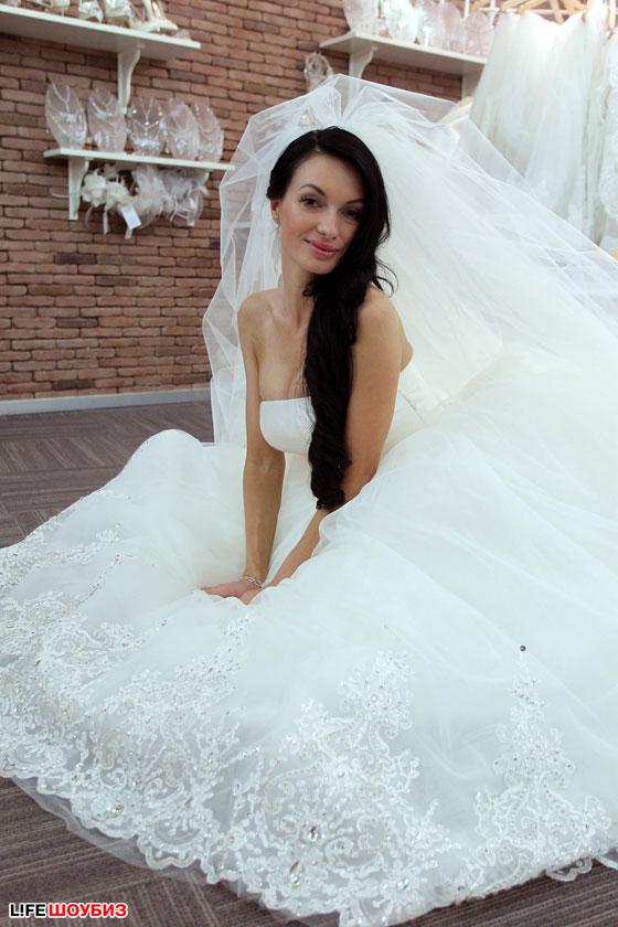 Свадебное платье евгении