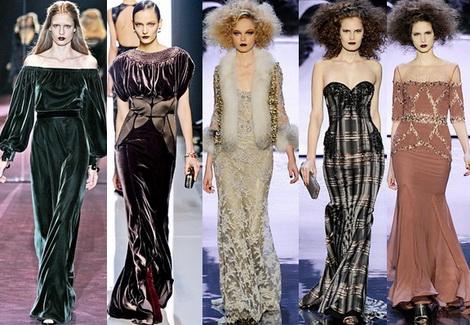 Модные платья от кутюрье