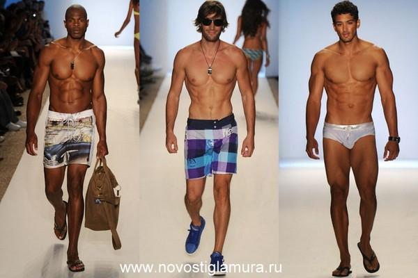 Пляжная мужская мода 2012 фото