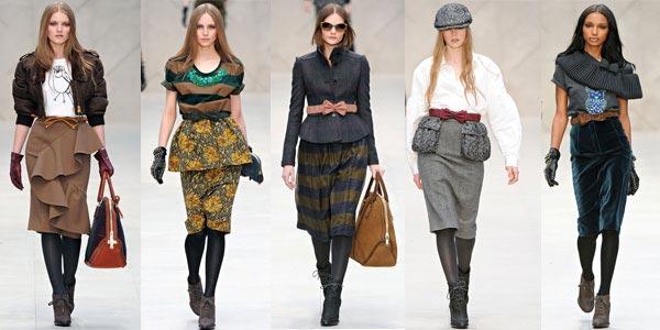 Модные юбки осень зима 2012 2013 фото