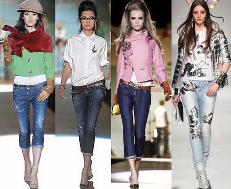 Джинсы помогают создать стильный, современный образ.  В 2013 году...