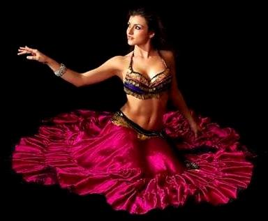 урок восточных танцев для начинающих