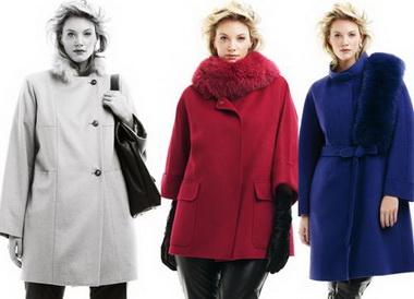 Пальто на полных