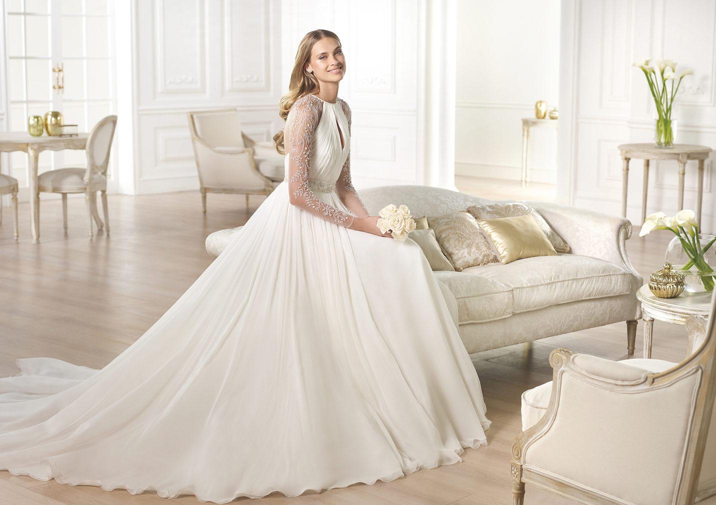 Свадебные платья до 2015