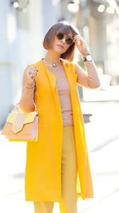 яркие цвета в одежде