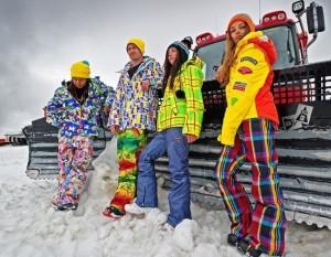 горнолыжные костюмы