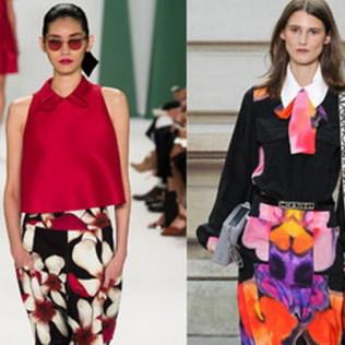 Модные блузки весны-лета 2015