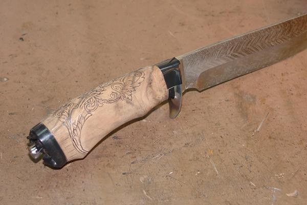 Как выбрать качественный нож из дамасской стали?