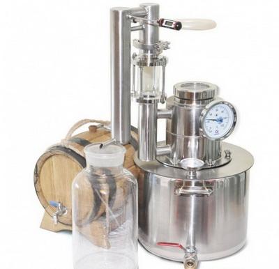 оборудование для производства этилового спирта в домашних условиях