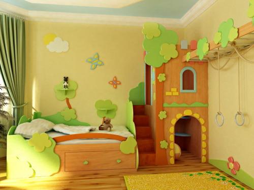 Обустройство детской комнаты. Дельные советы и подсказки.