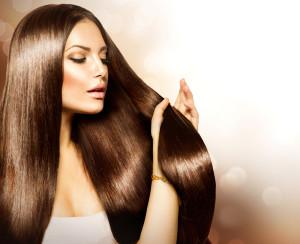 наращивании волос