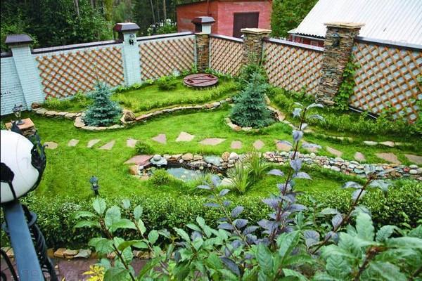Как распланировать сад
