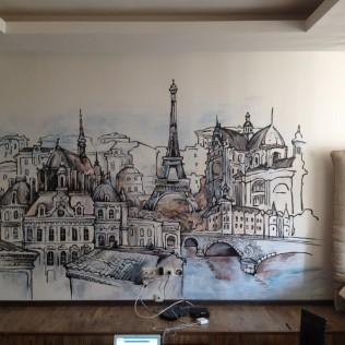 Pоспись стен