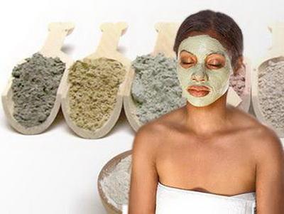 Маски для лица из глины