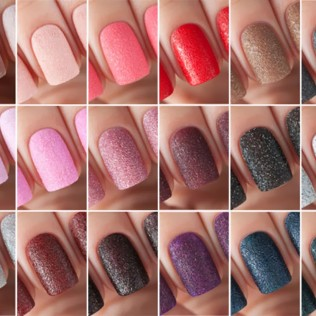 Пыль для дизайна ногтей