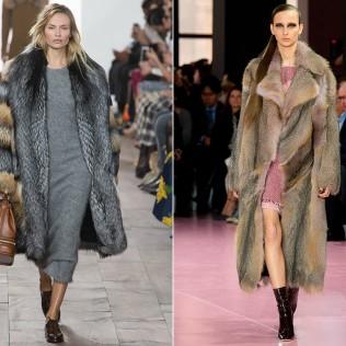 Женские пальто и шубки из искусственного меха